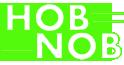 The Hob Nob Logo